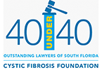 Seitles & Litwin selected as one of the 40 under 40 Outstanding Lawyers of South Florida by the Cystic Fibrosis Foundation